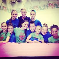 ALDC girls with like most of S2 AUDC 2013-08-27