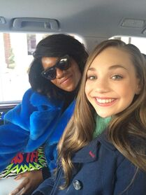 Danielle Prescod and Maddie Ziegler - Elle and NY fashion week - 16Feb2015