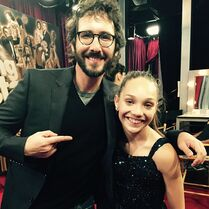 Maddie Ziegler and Josh Groban - Dancing with the Stars