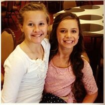 PaytonGS with Talia - around early 2014