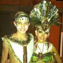 Nick daniels instagram march 29th with Hadley tribal affair duet
