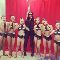 Murrietadanceprojectofficial-gram discussing dance moms competition 09Nov2014 Keara-FarRight KaylaSeitel-to-Erins-Right