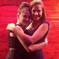 Haley and GiannaN Cabaret for a Cause 2014
