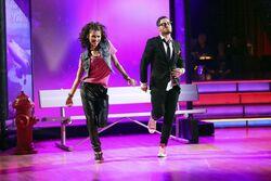 Zendaya and Val S16 Week 9 Hip-Hop 2