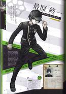Art Book Scan Danganronpa V3 Shuichi Saihara Profile