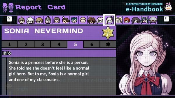 Sonia Nevermind's Report Card Page 5