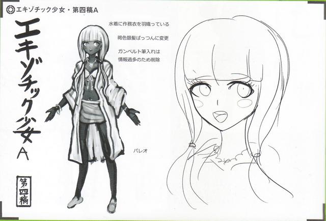 File:Art Book Scan Danganronpa V3 Character Designs Betas Angie Yonaga (4).png
