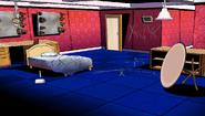 Makoto's bedroom dorm rooms crime scene