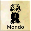 Mondo Door Sign Dorm Room