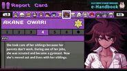Akane Owari Report Card Page 4