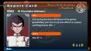 Kiyotaka Ishimaru Report Card Page 5