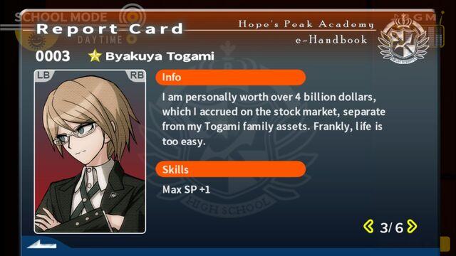 File:Byakuya Togami Report Card Page 3.jpg