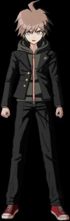 File:Danganronpa 1 Makoto Naegi Sprite (PSP) 01.png