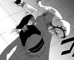 Danganronpa Killer Killer Chapter 2 Misaki Asano and Mekuru Katsuragi bound
