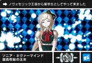 Danganronpa V3 Bonus Mode Card Sonia Nevermind N JPN