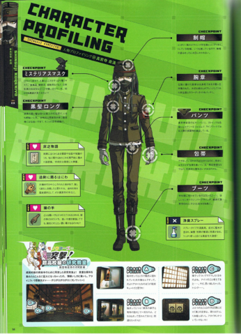 File:Art Book Scan Danganronpa V3 Korekiyo Shinguji Character Profiling.png