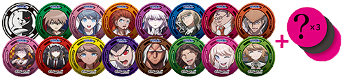 The Danganronpa Cafe Merch (1)