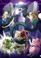 Danganronpa V3 Preorder Bonus Clearfile from Edion