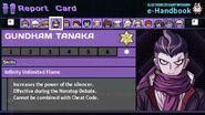Gundham Tanaka's Report Card Page 7