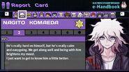 Nagito Komaeda's Report Card Page 2
