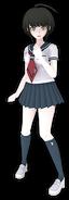 Komaru Naegi Fullbody 3D Model (2)