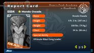 Mondo Owada's Report Card (Deceased)