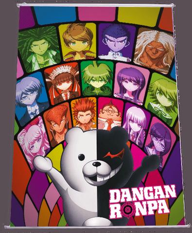File:Danganronpa The Animation German Wallscroll.png