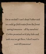 Gavin's Note
