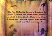 Bluebeard scroll