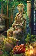 BOR - Statue of Queen Violante in the Forgotten Garden