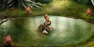 Boy mermaid freed