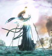 Sea goddess attacks