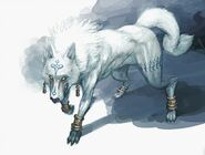 Frost wolf concept