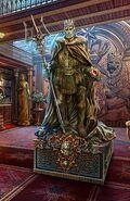 Mountain king statue 1