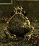Cobr-arc-frog-statue