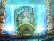 Sea goddess mural balcony