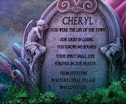 Cheryl village memorial