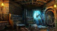 Mansion washing room