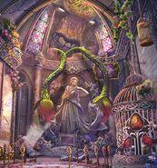 Golem rapunzel shrine