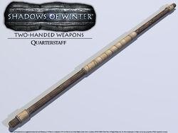 Weapon-quarterstaff