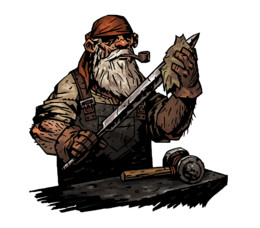 Blacksmith character