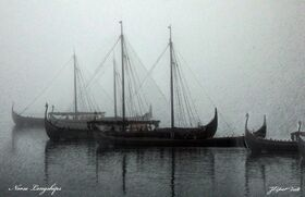 Norse longships