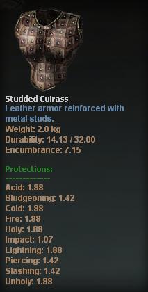 Studded Cuirass