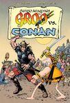 Groo versus Conan San Diego Comic-Con Exclusive Hardcover Edition