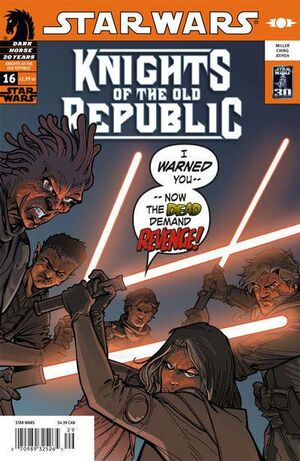 Star Wars Knights of the Old Republic Vol 1 16
