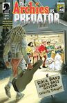 Archie versus Predator 1 San Diego Comic-Con International Exclusive Variant Cover by Colleen Coover