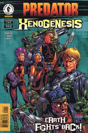 Predator Xenogenesis Vol 1 1