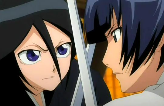 File:Soifon clashes with Rukia.png