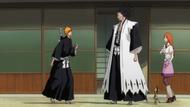 Kenpachi tells Ichigo to stay in the Human world