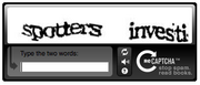 ReCAPTCHA Sample Black